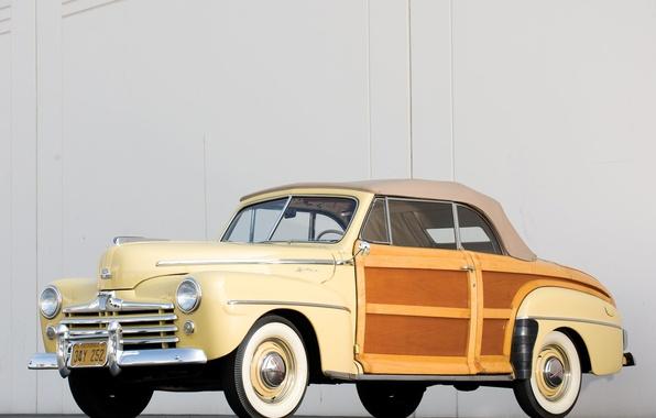 Картинка Ford, автомобиль, cars, classic, Super, 1948, Convertible, Deluxe, Sportsman