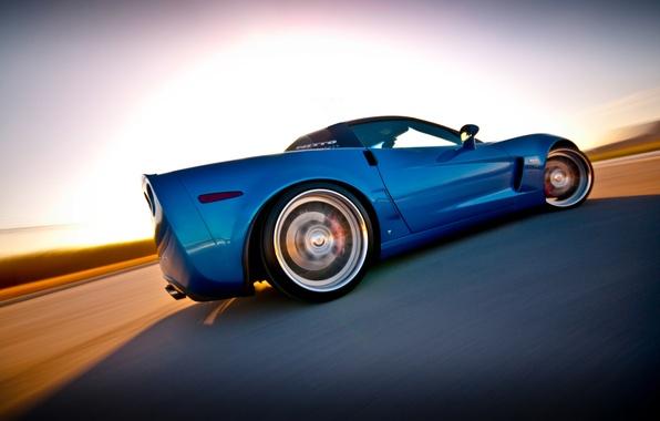 Картинка corvette, chevrolet, корвет, z06