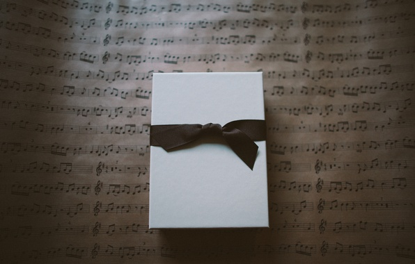 Картинка коробка, подарок, лента