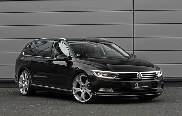 Картинка Volkswagen, фольксваген, универсал, пассат, Passat, B&B