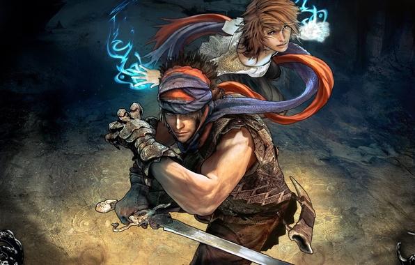 Картинка девушка, меч, Prince of Persia, Принц Персии, Epilogue