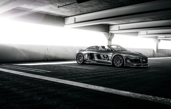 Картинка Audi, ауди, GTR, суперкар, кабриолет, Spyder, PPI Razor