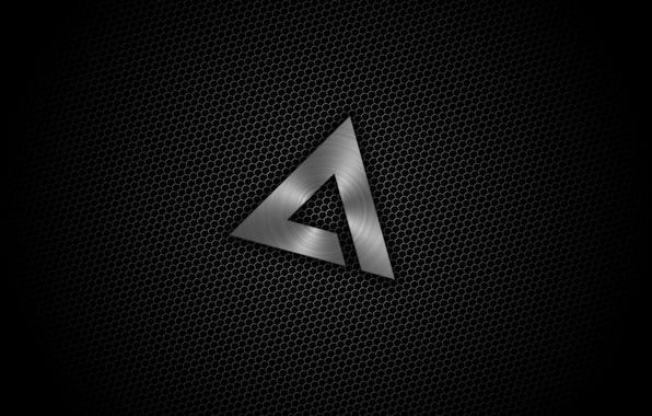 Картинка Минимализм, Логотип, Текстура, Black, AIMP