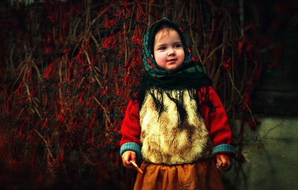 Картинки дети осень природа