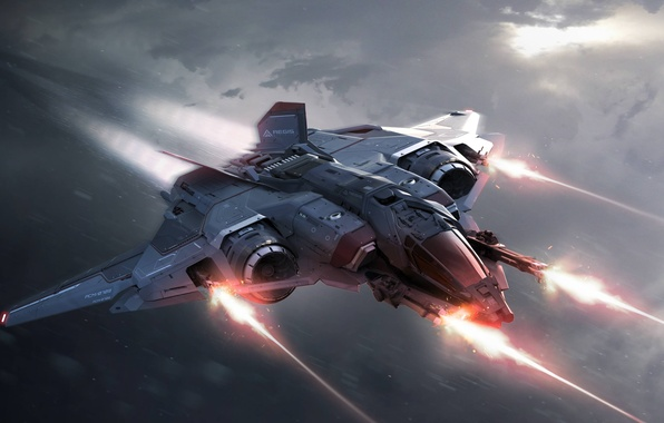 Картинка space ship, star citizen, sabre