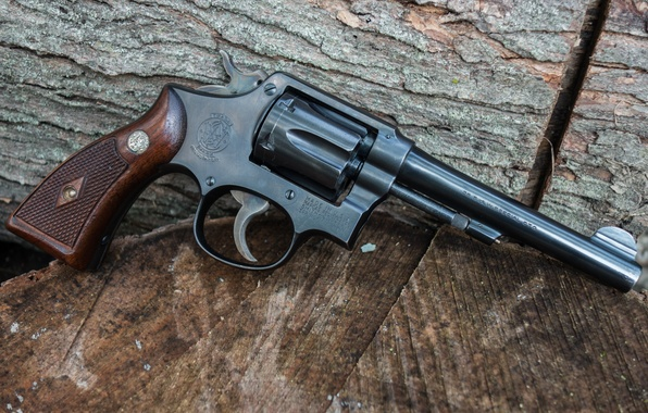 Картинка оружие, фон, ствол, револьвер, Smith & Wesson
