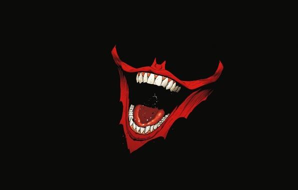 Картинка улыбка, batman, зубы, joker