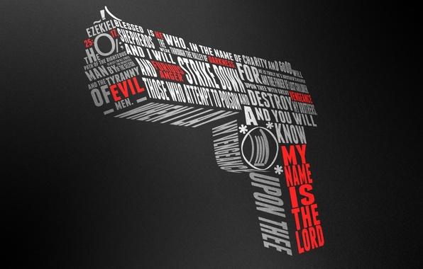 Картинка пистолет, слова, desert eagle