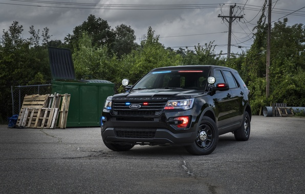 Картинка Ford, форд, Police, эксплорер, Explorer