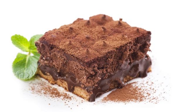 Картинка шоколад, торт, пирожное, крем, десерт, выпечка, сладкое
