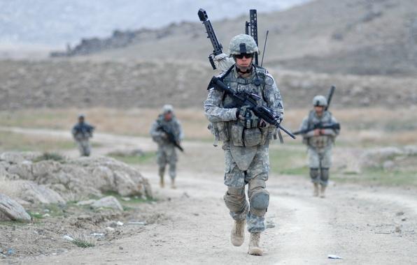 обои для рабочего стола военные солдаты № 808104 бесплатно