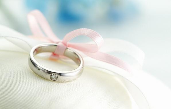 Картинка фон, кольцо, лента, обручальное