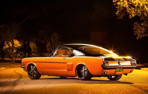 Картинка Mustang, Ford, 1965, Fastback