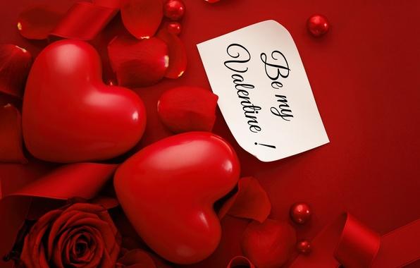 Картинка любовь, сердце, red, love, heart, romantic, silk, Valentine's Day