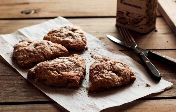 Картинка чай, кофе, завтрак, пирог, сладости, вилка, cake, выпечка, cup, обед, sweets, bread, breakfast, tea, folk, …