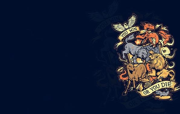 Обои животные, девиз, Игра Престолов, Game Of Thrones
