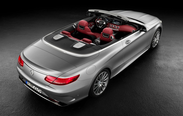Картинка Mercedes-Benz, кабриолет, салон, мерседес, AMG, S 63, S-Class, 2015, A217