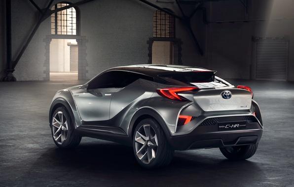 Картинка Concept, концепт, Toyota, тойота, 2015, C-HR