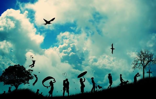 Картинка любовь, старость, жизнь, детство, смерть, путь, предназначение, зрелость, юность