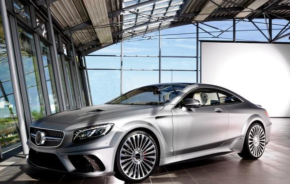 Картинка купе, Mercedes-Benz, мерседес, AMG, Coupe, Mansory, амг, S 63, 2015, C217, Diamond Edition