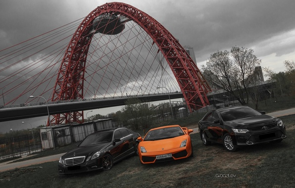 Картинка машина, Lamborghini, фотограф, Mercedes, Toyota, auto, photography, photographer, Alex Bazilev, Александр Базилев, Alexander Bazilev