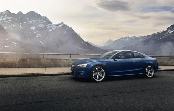Картинка Audi, Car, Sky, Blue, Landscape, Mountains, Sport, Travel, Automotive