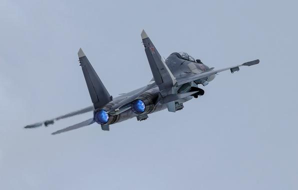 Картинка оружие, армия, самолёт, Su-30SM