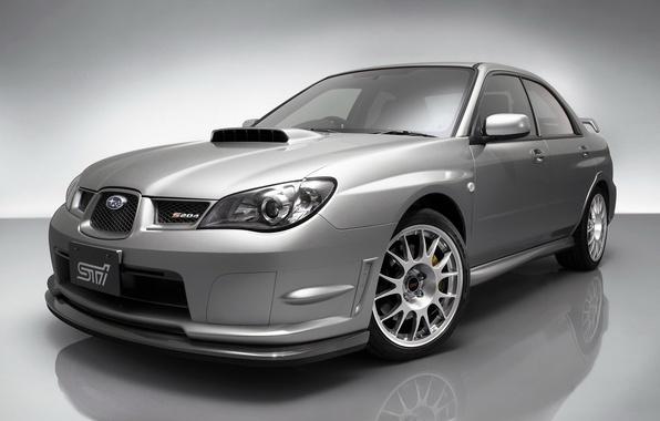 Картинка Subaru, Impreza, Серая