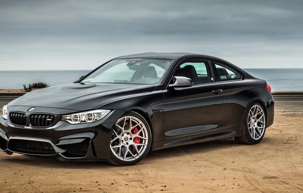 Картинка черный, бмв, купе, BMW, Black, Coupe, F82, Noelle Motors