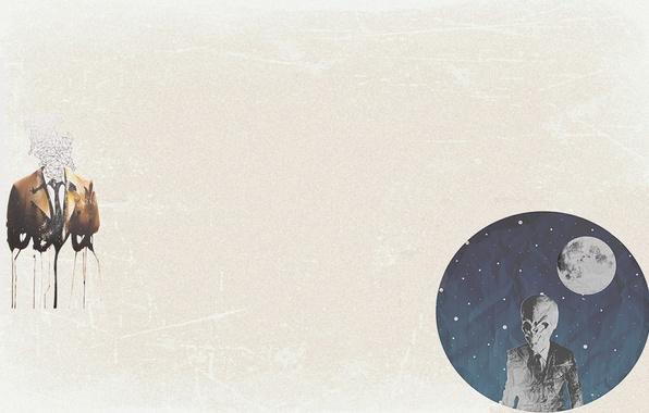 Фото обои Тишина, Доктор Кто, Кас, фон, Сверхъестественное