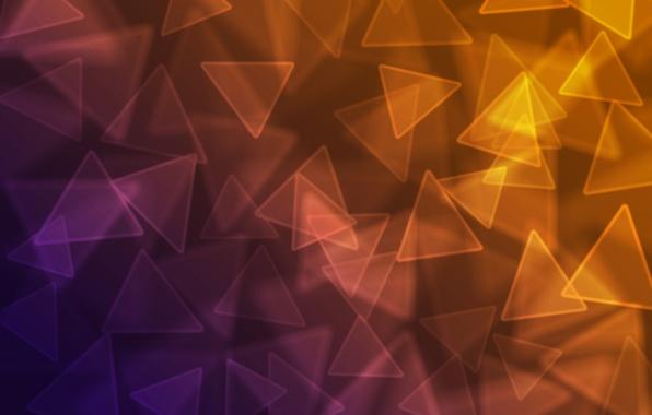 Картинка цветные, треугольники, углы, текстура