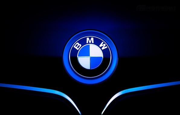 Картинка значок, бмв, капот, BMW, front, шильдик