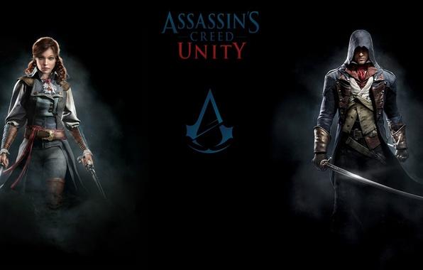 Картинка Оружие, Ubisoft, Assassin's Creed, Ubisoft Montreal, Arno, Арно, Assassin's Creed: Unity, Кредо Убийцы: Единство, Элиза