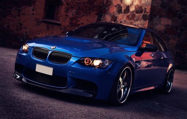 Картинка фары, BMW, подворотня, диски 360 Forged 5's