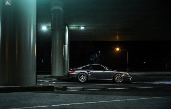 Картинка 911, Porsche, Forged, Side, Turbo, Collection, Aristo, Ligth, Nigth