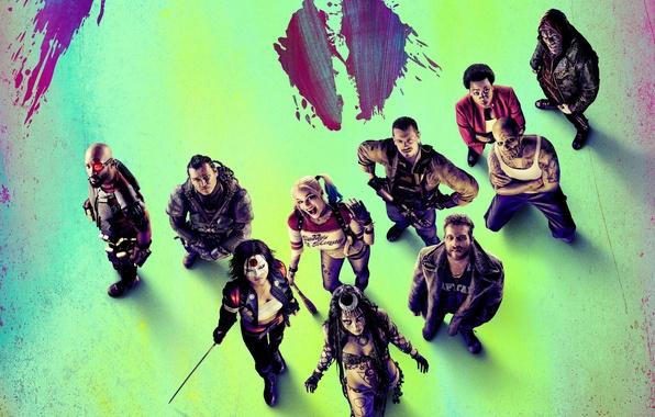 Картинка Bad, Girls, Guns, Will Smith, Witches, Team, harley quinn, Weapons, DC Comics, Movie, Film, enchantress, …