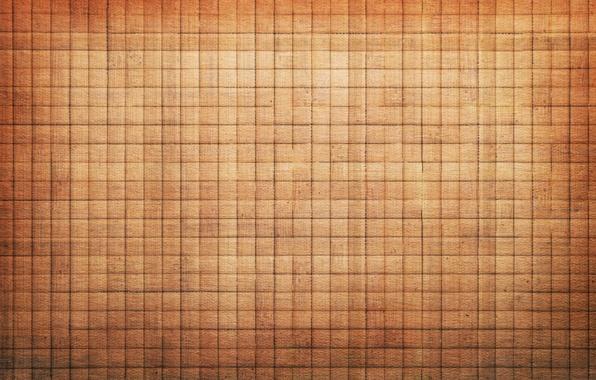 Картинка фон, текстура, квадраты, клетки, коричневый, бежевый, светло
