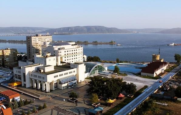 Картинка Город, Россия, ДК ТольяттиАзот, Тольятти, Комсомольский район