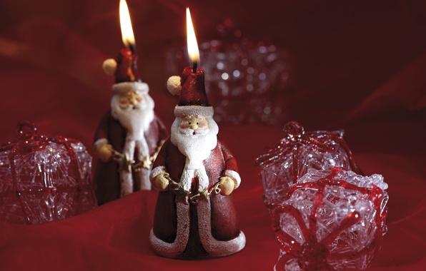 Картинка Рождество, Новый год, Санта, new year, Christmas, toy, santa, игрушечные