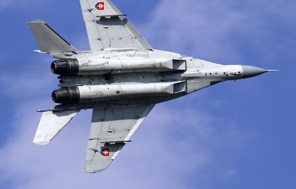 Картинка истребитель, многоцелевой, МиГ-29А, Fulcrum