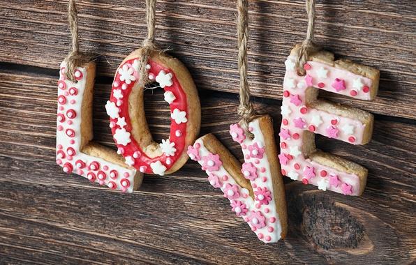 Картинка Любовь, печенье, sweets
