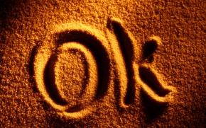 Картинка песок, блеск, золотое, написано