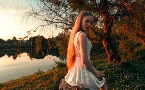 Картинка солнце, берег, веснушки, прелесть, sunrise, Anton Blok