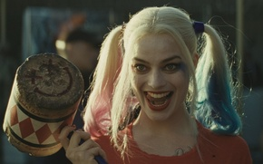 Обои Харли Квинн, DC Comics, Harley Quinn, Suicide Squad, Отряд Самоубийц, Robbie Margot, Робби Марго