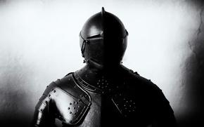 Картинка металл, фон, доспехи, шлем