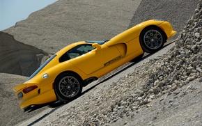 Картинка Viper, Dodge Viper SRT Geigercars Tune, Dodge Viper SRT Geigercars Tune Wallpaper, Dodge Wallpaper, Yellow …