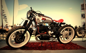 Картинка bmw, motorcycle, cafe racer, xt500