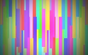 Картинка свет, линии, абстракция, полосы, цвет