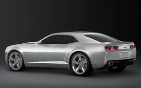 Обои Camaro, Chevrolet, silver