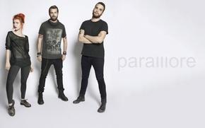 Картинка фото, серый, фон, группа, рок, photo, promo, Hayley Williams, Paramore, промо, alternative rock, gray, Тейлор, …